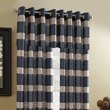 Grand Concourse Polyester Grommet Sheer Drape Panel