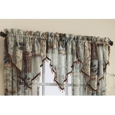 <strong>Croscill Home Fashions</strong> Jessica Polyester Sheer Curtain Valance
