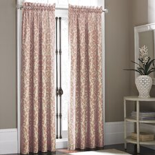 Takin Polyester Rod Pocket Curtain Panel (Set of 2)