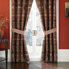 Pondera Polyester Rod Pocket Drape Panel (Set of 2)