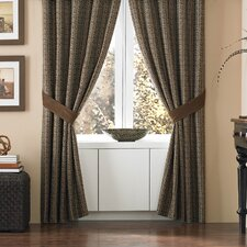 Sahara Polyester Rod Pocket Drape Panel (Set of 2)