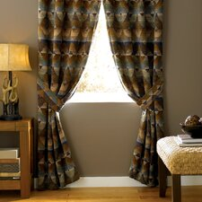 <strong>Croscill Home Fashions</strong> Dakota Polyester Rod Pocket Drape Panel (Set of 2)
