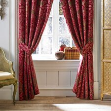Fuchsia Polyester Rod Pocket Drape Panel (Set of 2)