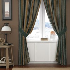 Hudson Polyester Rod Pocket Drape Panel (Set of 2)