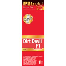 Dirt Devil F1 Hepa Vacuum Filter