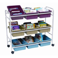 <strong>Copernicus</strong> Deluxe Book Browser Cart with Eco Tub