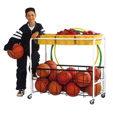 "37"" Phys Ed Equipment Cart"