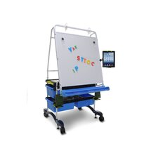 Tech Easel with 4 Open Tubs