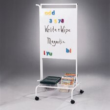 Deluxe Chart Stand 5.42' x 2.17' White Board