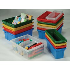 Divided Book Tub (Set of 10)
