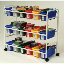 <strong>Copernicus</strong> Leveled Reading Book Browser Cart with Display Racks
