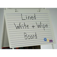 Magnetic Double Sided Dry Erase 2' x 2.83' White Board