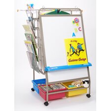 Royal Premium Chart Caddy Center 4.75' x 2.58' White Board