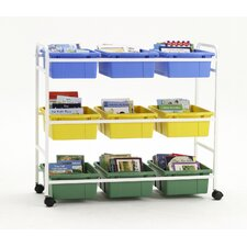 "Leveled Reading Book 36"" Browser Cart"