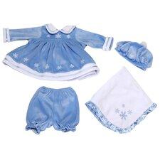 "Molly P. Apparel 16"" Martina Doll Ensemble in Blue"