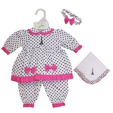 "Molly P. Apparel 18"" Elise Doll Ensemble"