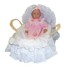 <strong>Molly P. Originals</strong> Bellini Baby in Corn Husk Basket