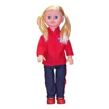 "<strong>Molly P. Originals</strong> 18"" On the Go Girl Fashion doll"