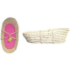 <strong>Molly P. Originals</strong> Corn Husk Basket with Pad