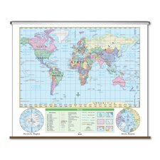 Essential Wall Map - World
