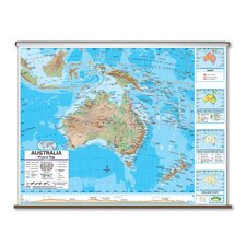 Advanced Physical Map - Australia