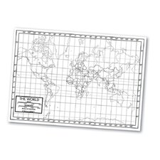 Outline Map - World