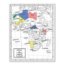 Outline Map - Continent