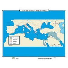 World History Wall Maps - The Ancient World
