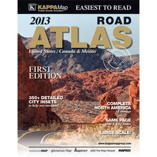 North America Large Print Road Atlas