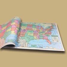 U.S. Study Map Pad