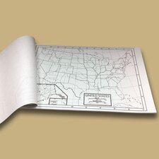 U.S. Outline Map Pad