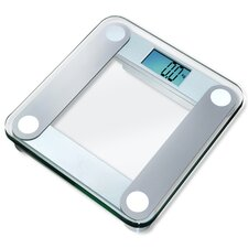 <strong>EatSmart</strong> Digital Bathroom Scale with Extra Large Backlight in Silver