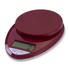 Precision Pro in Digital Kitchen Scale in Red