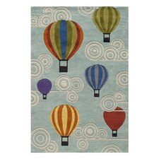 <strong>Momeni Lil' Mo</strong> Lil Mo Whimsy Hot Air Balloons Kids Rug