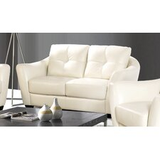 Carrigan Leather Loveseat