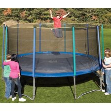 <strong>Pure Fun</strong> 15' Round Trampoline with Enclosure