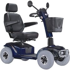 "Mirage K Electric 4 Wheel Power Scooter with 20"" Captain Seat Top Speed 7.5 MPH"