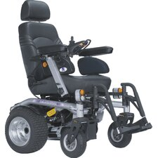 "Sahara K Heavy Duty Power Chair with 20"" Captain Seat w/ Lighting Pack"