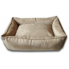 Easy-Wash Cover Lounge Donut Dog Bed