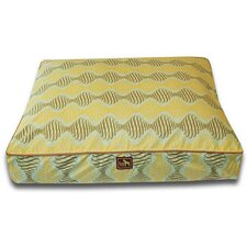 Spirals Easy-Wash Cover Rectangle Dog Pillow