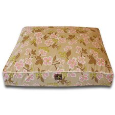 Meadow Easy-Wash Cover Rectangle Dog Pillow
