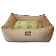 Spirals Easy-Wash Cover Lounge Donut Dog Bed