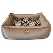 Waves Easy-Wash Cover Lounge Donut Dog Bed