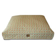 Diamond Easy-Wash Cover Back Rectangle Dog Pillow