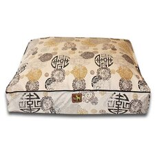 Zen Easy-Wash Cover Rectangle Dog Pillow