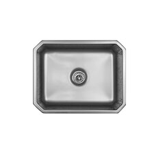 "Advantage Series 23"" x 18"" Summit Single Bowl Undermount Kitchen Sink"