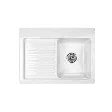"<strong>CorStone</strong> Advantage Series Edgewood 30"" x 22"" Self Rimming Laundry Sink"