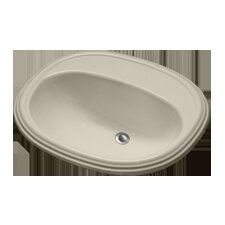 Advantage Williston Self Rimming Oval Bathroom Sink