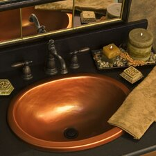 Advantage Series Self Rimming or Undermount Oval Bathroom Sink