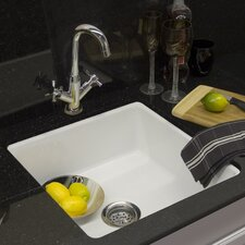 "Optimum Series 20"" x 20"" Alton Oversized Undermount Prep Bar Sink"